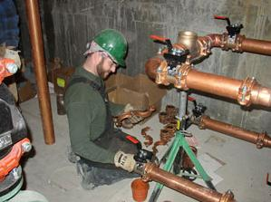 Our Plumbers in Monterey Park Do Commercial Repipes
